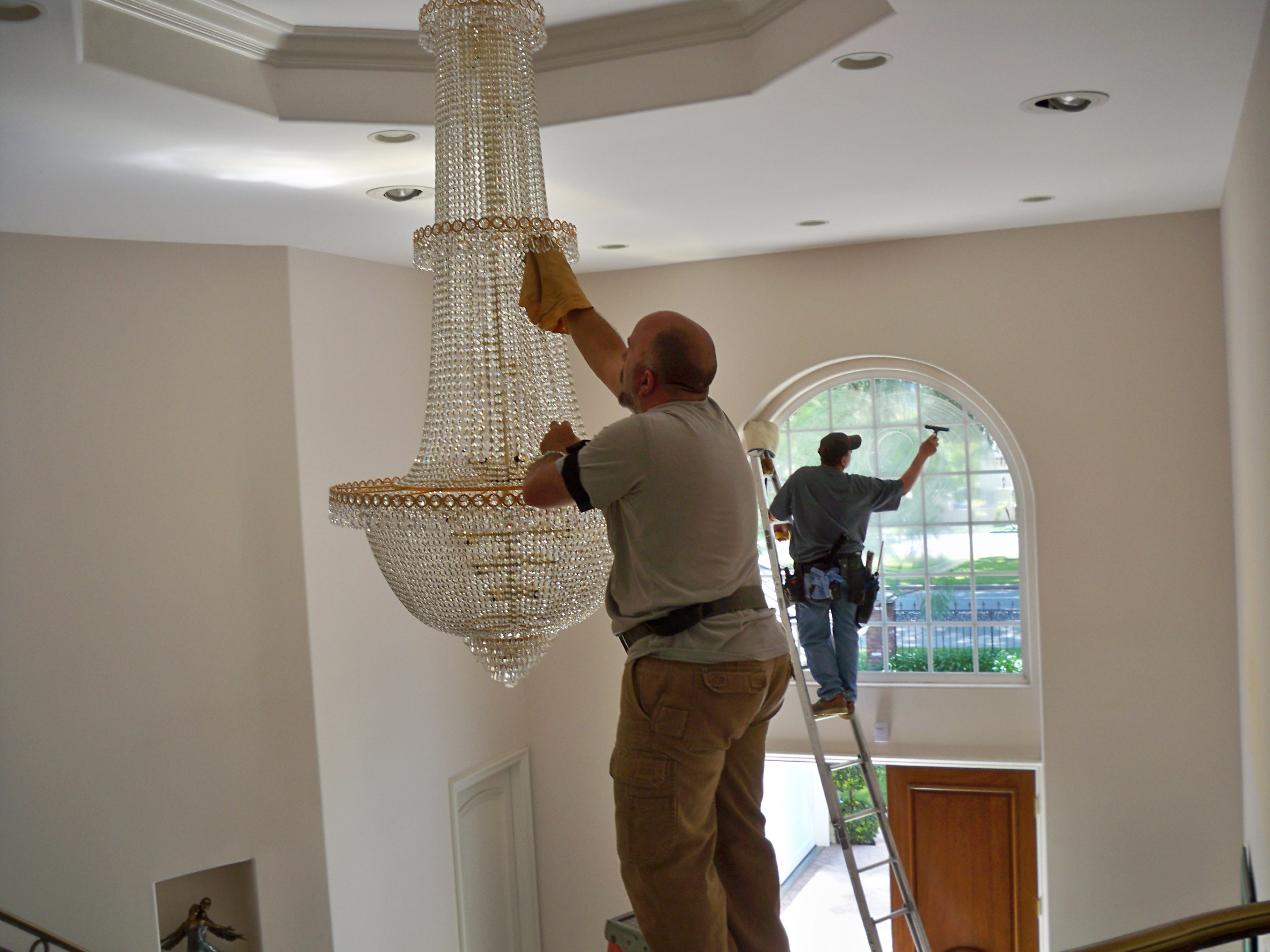 Window care inc chandelier cleaning chandelier cleaning chandelier washing chandelier cleaning mozeypictures Images